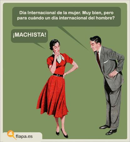 humor, viñeta, flapa, funny, machismo, feminismo, secretos de mujer, día internacional de la mujer