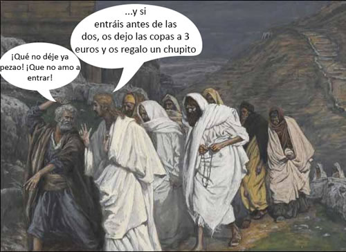 vieta, humor, colaboracion mojonera, puta mierda, jesus, copas, euros