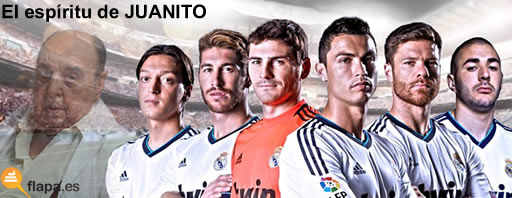 viñeta, humor, real madrid, futbol, espiritu de juanito, juanito navarro, y hasta aquí todo lo que se de futbol