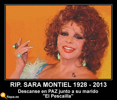 vieta, humor, sara montiel, muere sara montiel, marujita daz, lola flores, pamplina