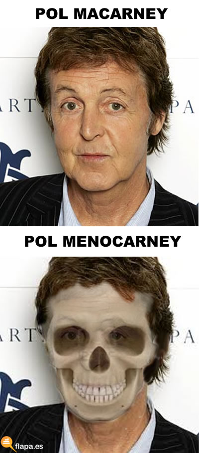 vieta, humor, colaboracion mojonera, mohonera, paul mccartney, carne, pamplinan beatles