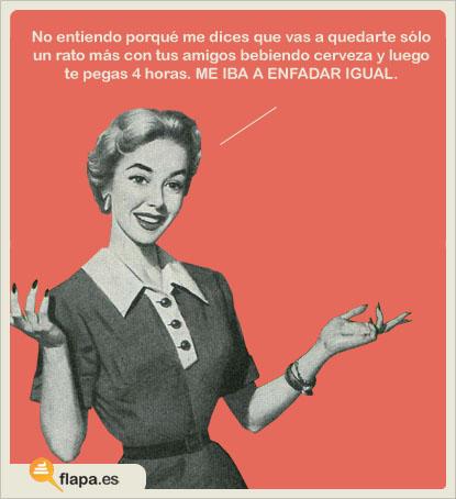 humor, viñeta, flapa, secretos de mujer, machismo, feminismo.