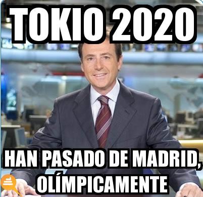 meme, madrid2020, matias prats, tokio, madrid, olimpiadas, al carajojojojojojo, viñeta, humor